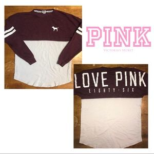 Pink Victoria's Secret's sweatshirt